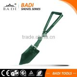 multi-function outdoor survival folding shovel military shovel with carry bag