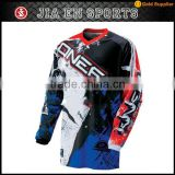 Mens brand outdoor sports cycling clothing new design 2017 mesh fabric sublimated mountain bike wear