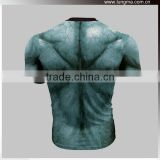2016 Marvel Superhero T-shirt Tee Running Compression Shirts