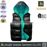 2015 Wholesale Customized Outdoor Men Slim Duck Down Vest