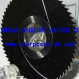 Screw Slotting Cutters with steps, Screw Slotting Saws with steps, Cemented Carbide Screw Slotting Cutter