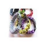 Eco-Friendly Braided Rope Bracelet For Energy Balance, Promotional Custom Braided Bracele