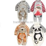 chrismas cartoon animal pure cotton baby romper