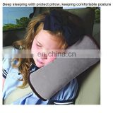 Safety deep sleeping car seat belt pillow,protect shoulder support car pillow for Universal Children,car belts barness pillow