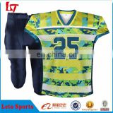 Wholesale cheap high quality American football set/ Custom youth american football jersey for club