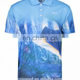 UV protection fishing jersey sublimation custom