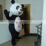 Movable Panda mascot costume for Charity