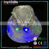 Hot Birthday Party Supplies LED Rave Hat Flashing Light Up Hats