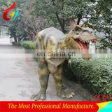 Realistic dinosaur costume for amusement park on sale