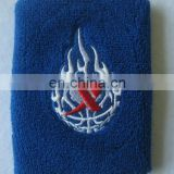 Sports Cotton Numbered Embroidery Wristband