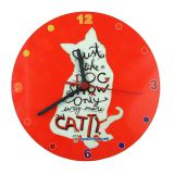Sublimation Hardboard Clock 20cm