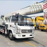 Best sale 7ton capacity cheap tire truck with crane