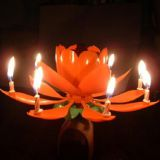 Flower Birthday Candles