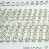 china sew on cup chain stones factory, high quality cup chain stones sew on;sew on cup chain stone