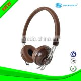 Wired headphone /wholesale Factory price & super bass mp3 headphone with brand logo can with your logo