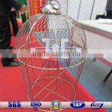 steel wire rope decorative mesh birdcage| pet cage