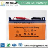 lead-acid low light pollution high way maintenance free solar panel battery