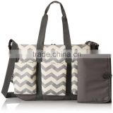 Popular Double Diaper Bag Stroller Organizer Baby Bag Chevron