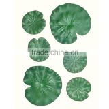 Different Size of Floating Lotus Leaf Artificial EVA Floating Lotus Leaf Decor for Pool Fish Tank