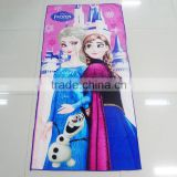 2016 Hot Selling Custom Promotional Quick Dry Cartoon Full Color Innovative Printed Microfiber Bath/Beach Towel