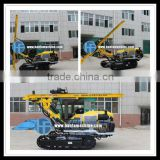 Crawler type rock drilling rig! HF138Y blasting hole drilling equipment