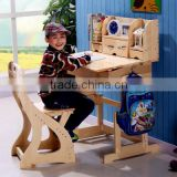 High quality adjustable kids table and chair set