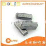 Q235 carbon steel common parallel key