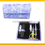 Nice purple bag design manicure tool