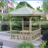 chinese style outdoor garden gazebo wood pavilion gazebos waterproof anticorrosive for gazebo
