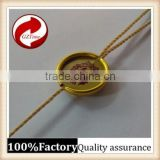 Cheap high-grade environmental protection non-toxic gilt metal plastic seal tag / string Brand Seal Cord