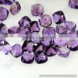 amethyst briolette gemstones fine quality cushion briolette cut wholesale