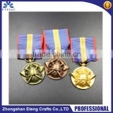 Customized 3D die-casting bronze/copper/gold medal pin badge,fashion metal pin badge