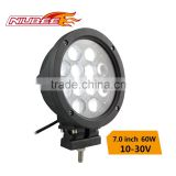 automotive accessories 60W led round tail light led driving lamp