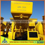 350L Diesel Hydraulic Concrete Mixer with 10-14m3/h Productivity