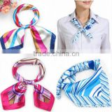 oem custom logo women cooling silk neck scarf                                                                         Quality Choice