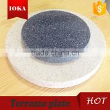 Customized Concrete large round tray on sale