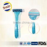 Hot design and good quality disp[osable shaving razor/ hotel amenities sets disposable razor