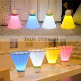 new badminton lamp ball badminton cute desk lamp