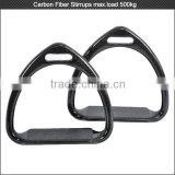 High-end equestrian product carbon fiber horse lightweight stirrups Iron , western saddlery stirrups horse