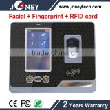4.3 inch Touch Screen Fingerprint &Facial recognition access control system