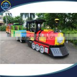 Attraction park ride electric trackless train for sale