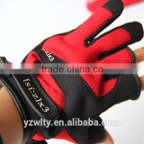 OEM Outdoor Sports Anti slip Neoprene Fishing gloves fishing gear tackle