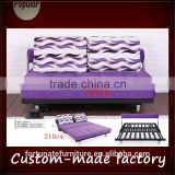 micfiber cover 164cm length ralxing couch sliding futon sofa bed with back cushion                                                                         Quality Choice