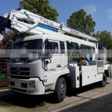 factory sale 4*2 Dongfeng 20M truck mounted aerial work basket
