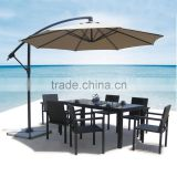 Rectangle table and 6 chairs rattan wicker dining malaysia outdoor furniture JJ-112TC
