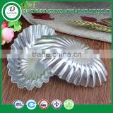 High quality guangzhou wholesale oval daisy shape aluminum cake holder aluminum cake pan
