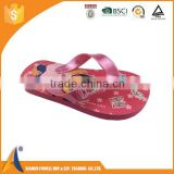 Kids cartoon wholesale cheap fashion candy EVA/Rubber flip flops, eva flip flops for sale, customised rubber flip flops
