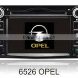 2012 Latest 6.2 inch OPEL Specfic Car DVD GPS with DV Camera,Radio, TV, iPOD, Disk,SD,USB, etc