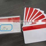 CR80 Full Color Printing PVC Material Hico 2750oe Blank Magnetic Stripe Card Membership Card