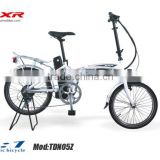 2014 lithium battery foldable electric bicycle for hiding battery inside of the frame CE and EN15194 approval